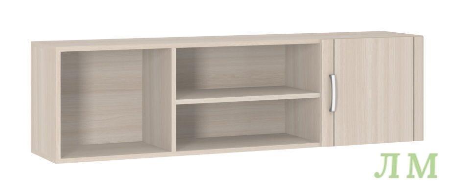 Шкаф навесной лотос (боровичи-мебель) - мебель недорого в мо.